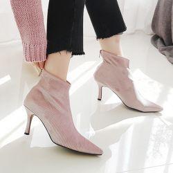 Boots cổ thấp Sovo Hàn Quốc 021181