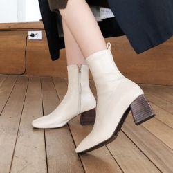 Boots cổ thấp Sovo Hàn Quốc 021182