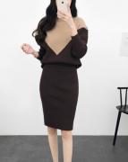 Váy liền thân Theerin Hàn Quốc 161131