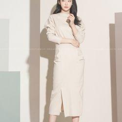 Váy liền thân Flower Hàn Quốc 121259