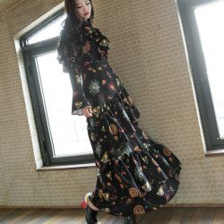 Váy liền thân Dint Hàn Quốc Hàn Quốc 130158