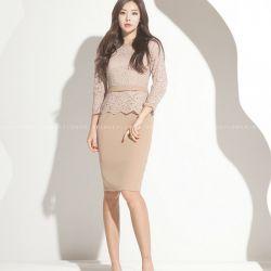 Váy liền thân Flower Hàn Quốc 150155
