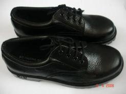 Giày da thấp cổ mũi sắt DH