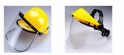 Mũ nhựa ABS kết hợp kính chắn bụi FC45 và gọng gắn kính A2