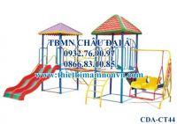 Cầu trượt trẻ em, Cầu trượt liên hoàn 2 khối nhà CT44