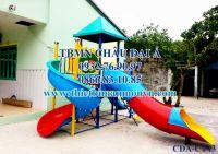 Cầu trượt trẻ em, Cầu trượt  liên hoàn ống xoắn CT43