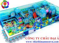 Lắp đặt khu vui chơi trẻ em giá rẻ