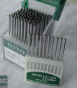 Embroidery needle toyo needle DBXK5 16X231