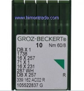 groz-beckert dbx1 16x257 16x231 sewing needle