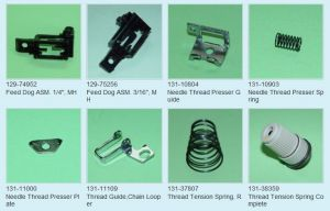 OTHERS(3) JUKI sewing machine parts
