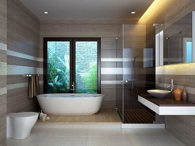 10 siêu ý tưởng giúp phòng tắm nhỏ trông to hơn thực tế