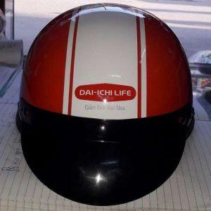 Mũ bảo hiểm quảng cáo Dai-ichi life