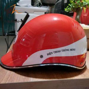 Mũ bảo hiểm quảng cáo Điện Thoại Thông Minh