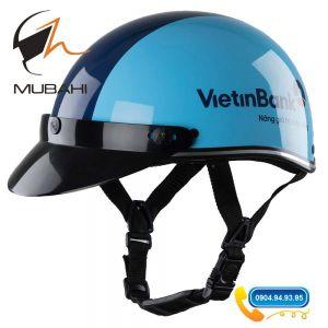 Mũ bảo hiểm Quảng cáo ngân hàng Viettinbank
