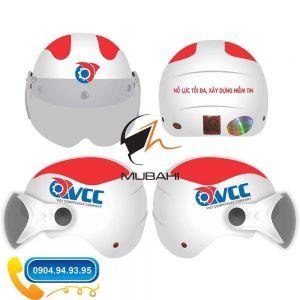 Mũ bảo hiểm quảng cáo OVCC