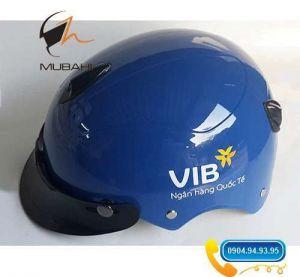 Mũ bảo hiểm quảng cáo VIB