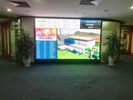 HPT Lắp đặt màn hình led P1.8 (Tập đoàn dầu khí)