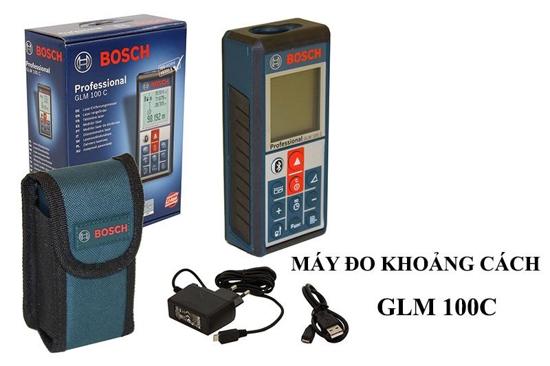 Máy đo khoảng cách laser GLM 100C Bosch Đức