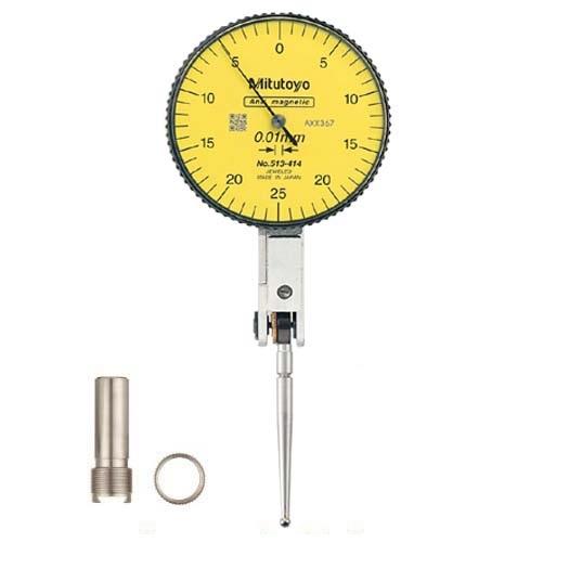 Đồng hồ so chân gập 513-414-10T (0-0.5mm/0.01mm)