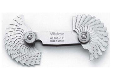 Bộ dưỡng đo ren 188-111 (4-42TPI/30 lá)