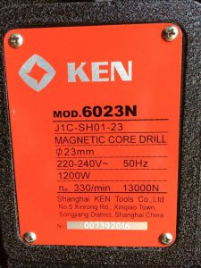 Máy khoan từ Ken 6023N Trung Quốc
