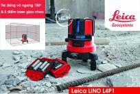 Máy cân bằng laser Leica Lino L4P1