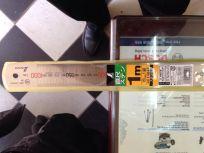Thước lá shinwa Nhật 0 - 1000mm 14044