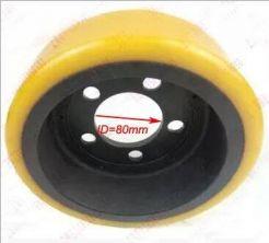 Bánh PU xe nâng điện