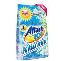 Bột giặt khử mùi Attack hương ngày sảng khoái dạng túi 3.8kg