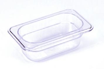 Khay nhựa GN 1/9 cao 65mm