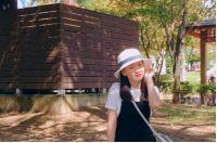 Nữ sinh ABAY dễ thương dưới trời Thu Hàn Quốc