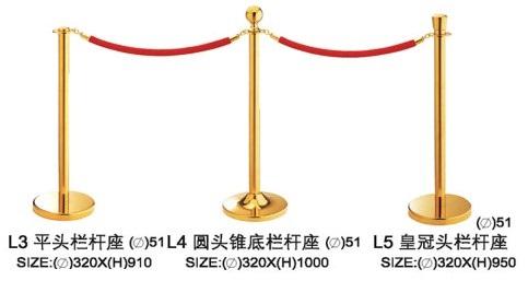 Cột chắn dây nhung L3-4-5