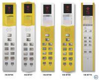 Mẫu hộp gọi tầng và bảng điều khiển thang máy