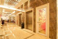 Mẫu Cabin Thang Máy Gương Vàng