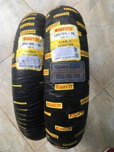 Lốp Pirelli 110/70-17