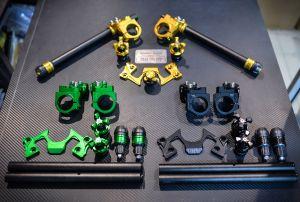 Ghi đông Clip-on CNC cho Kawasaki Ninja/Z300