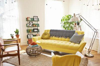 Sofa vàng