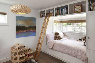 Giường kết hợp tủ cho bé