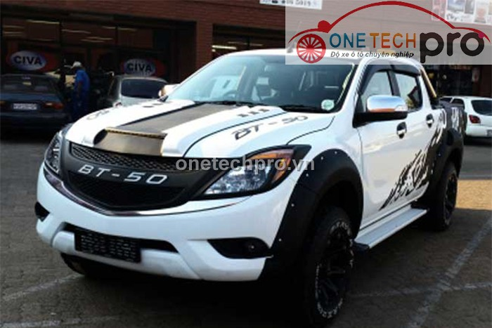 ĐỘ BODY KITS MAZDA BT50