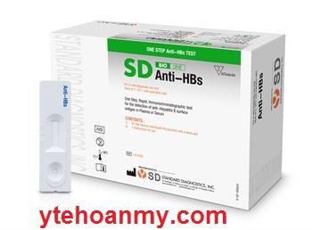 Test thử nhanh SD Hàn Quốc Anti-HBs (giá rẻ nhât)