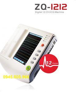 Máy điện tim 12 cần Zoncare ZQ-1212