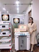 Hệ thống máy soi TMH Ouman bàn khám và điều trị công nghệ 2020
