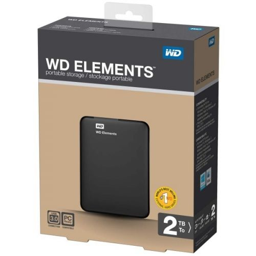 "2TB WESTERN DIGITAL Elements 2.5"" (WDBU6Y0020BBK)"