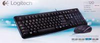 Bộ bàn phím & Chuột có dây Logitech MK120 siêu nhạy
