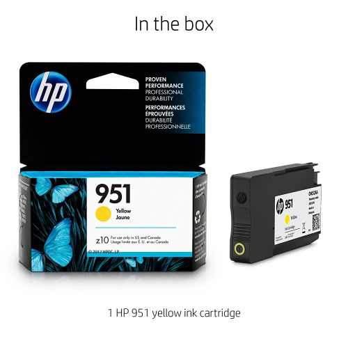 MỰC IN HP 951XL YELLOW OFFICEJET INK CARTRIDGE (CN048A)