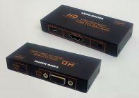BOX CHUYỂN HDMI -> VGA + AUDIO KINGMASTER (KY-H130B)