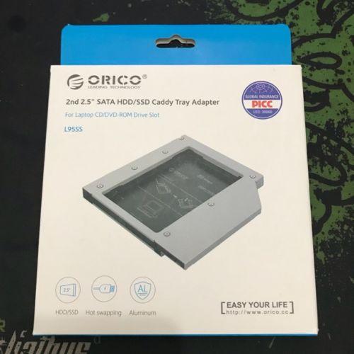"Caddy Tray Adapter 2nd 2.5"" Sata HDD/SSD Slim"