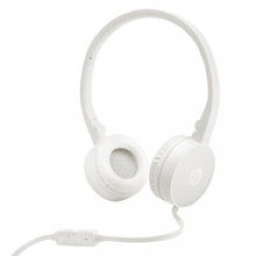 Tai nghe HP Headset H2800 (Màu Trắng,  kèm Mic)
