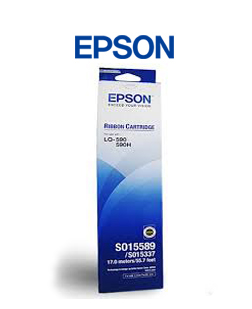 Ribbon Epson LQ-590 (S015589) Black