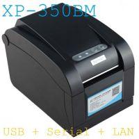 Máy in mã vạch Xprinter XP 350BM (3 Cổng)